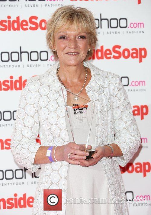 Gillian Wright - winner The Inside Soap Awards...