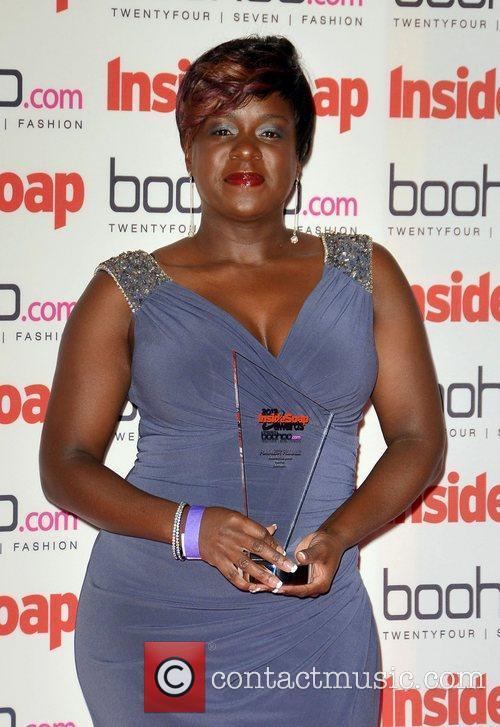 Tameka Empson The Inside Soap Awards 2012 held...