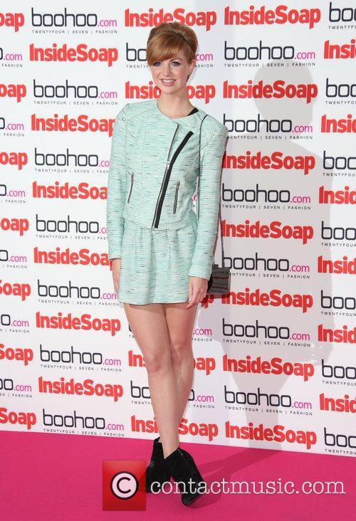 Lucy Dixon The Inside Soap Awards 2012 held...