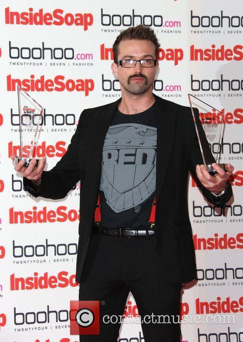 Emmett J Scanlan - winner The Inside Soap...