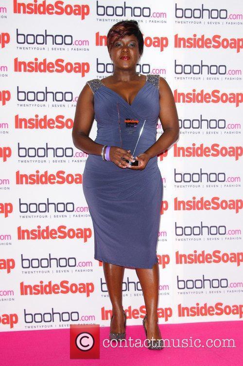 Tameka Empson Inside Soap Awards 2012 Sponsored by...