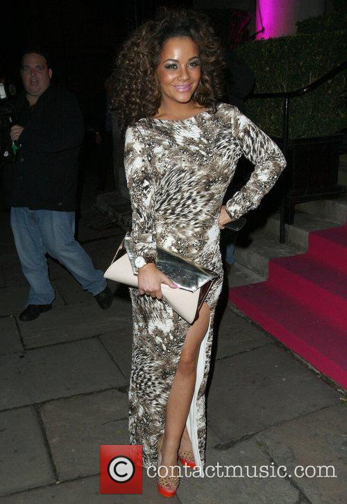 Chelsee Healey,  at the Inside Soap Awards...