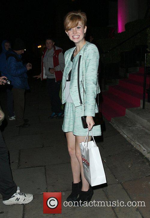 Lucy Dixon,  at the Inside Soap Awards...