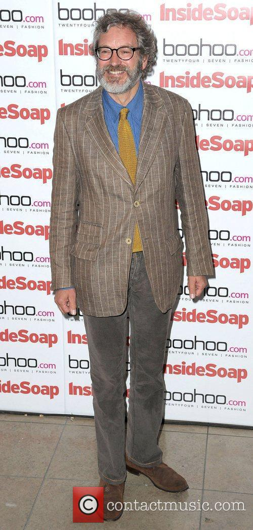 At the Inside Soap launch party at Rosso...