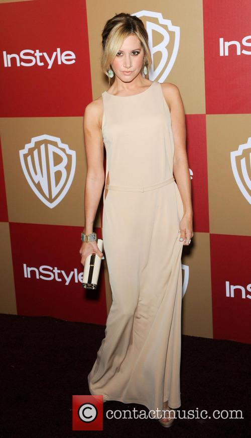 Ashley Tisdale InStyle And Warner Bros. Golden Globe...