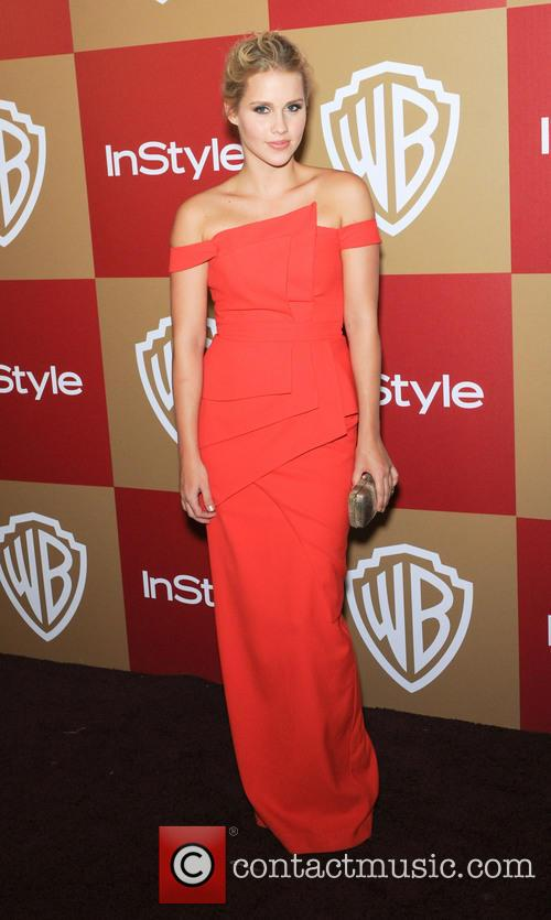 Claire Holt InStyle And Warner Bros. Golden Globe...