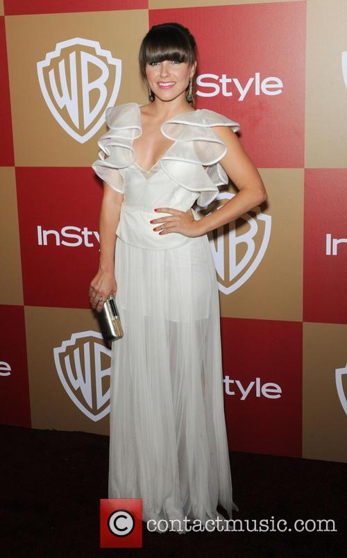 sophia bush instyle and warner bros golden 20060380