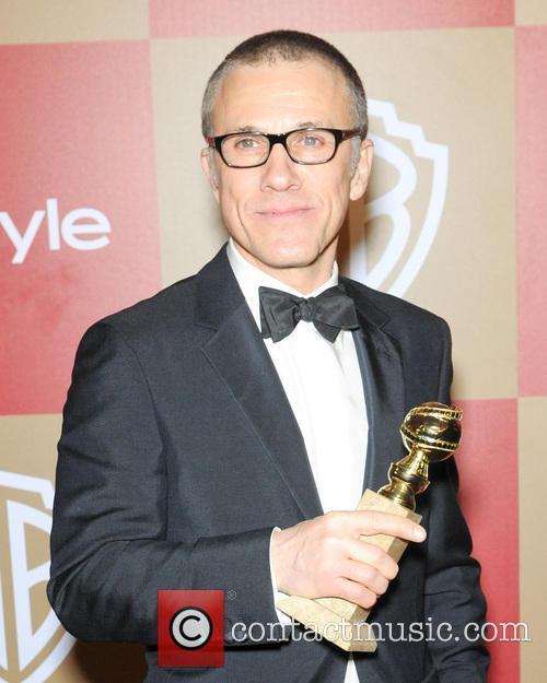 Christoph Waltz InStyle And Warner Bros. Golden Globe...