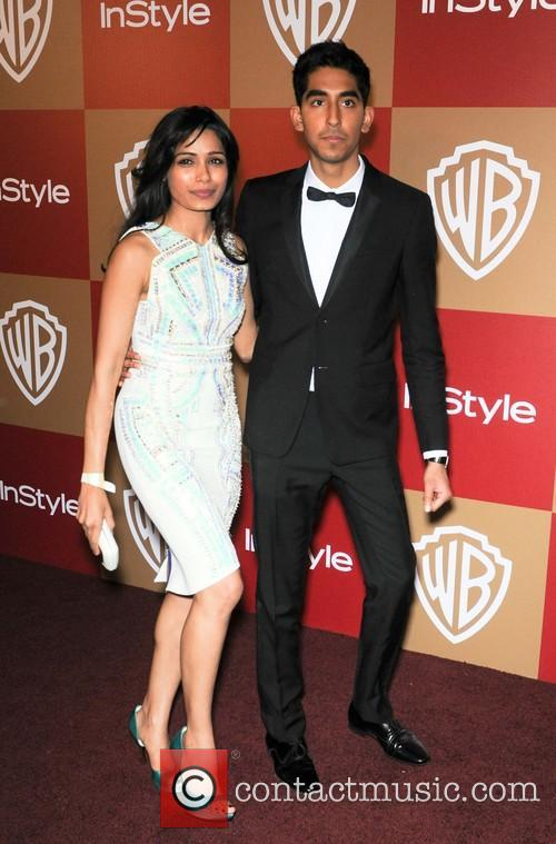 Dev Patel and Freida Pinto 1