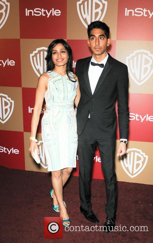 Dev Patel and Freida Pinto 4