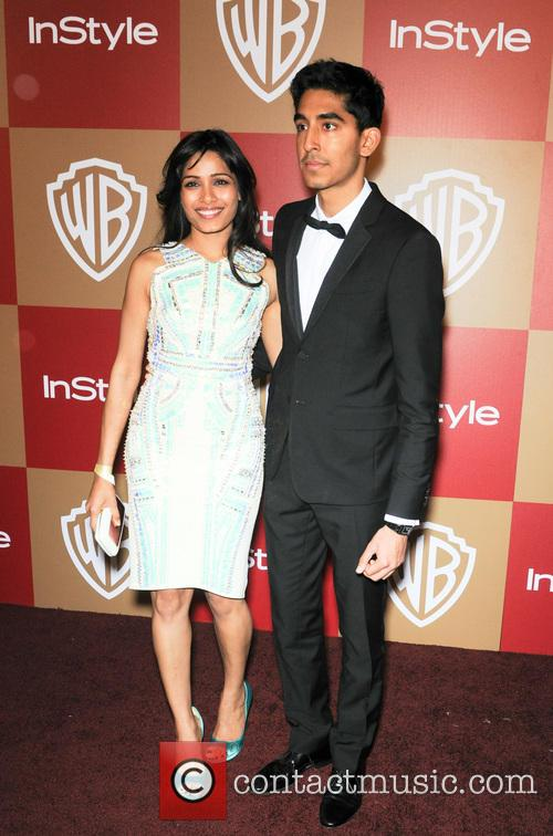 Dev Patel and Freida Pinto 3