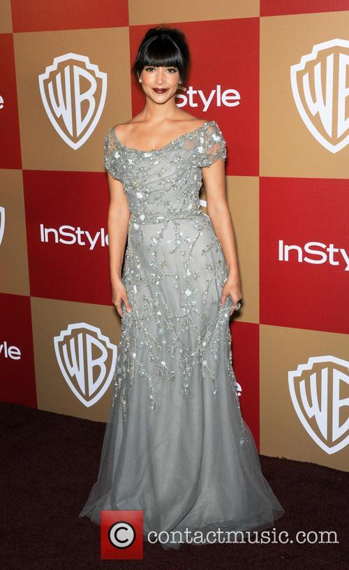 Hannah Simone InStyle And Warner Bros. Golden Globe...