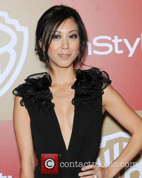 Brittany Ishibashi InStyle And Warner Bros. Golden Globe...