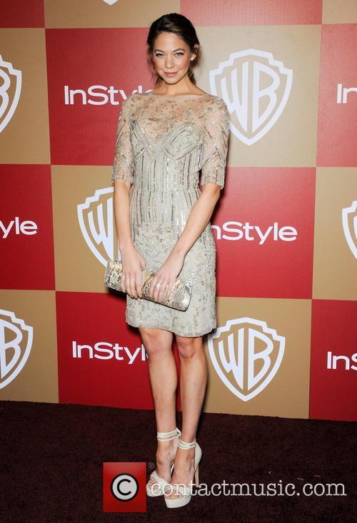 Analeigh Ttipton InStyle And Warner Bros. Golden Globe...