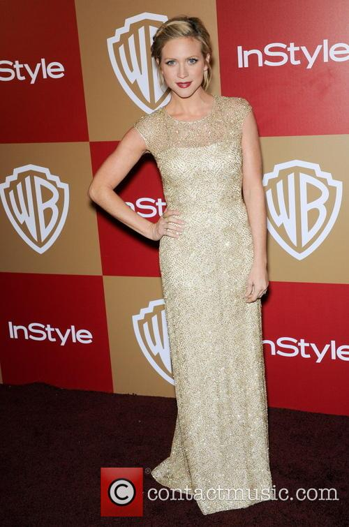 Brittany Snow InStyle And Warner Bros. Golden Globe...