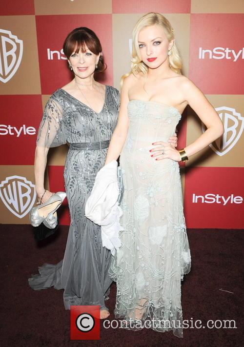 Francesca Eastwood InStyle And Warner Bros. Golden Globe...