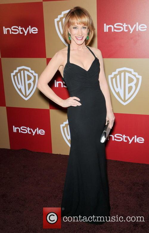 Kathy Griffin InStyle And Warner Bros. Golden Globe...