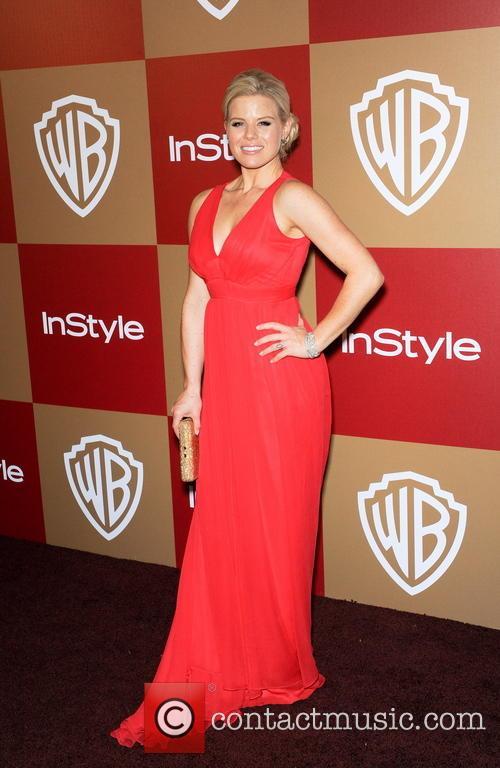Megan Hilty InStyle And Warner Bros. Golden Globe...