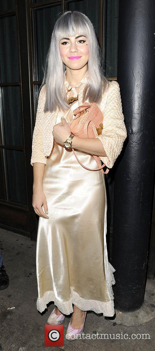 Marina and the Diamonds arriving at the InStyle...