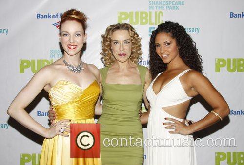 Bethany Moore, Ellen Harvey and Jennifer Rias Opening...