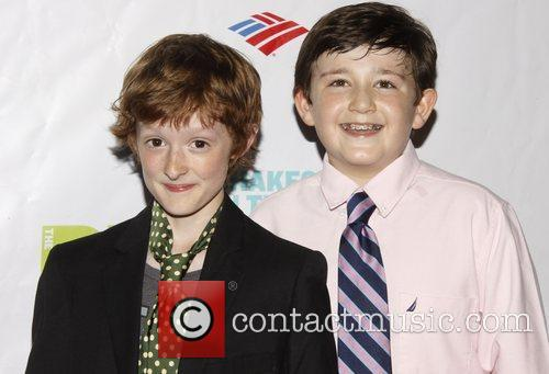 Noah Radcliffe and Jack Broderick Opening night after...