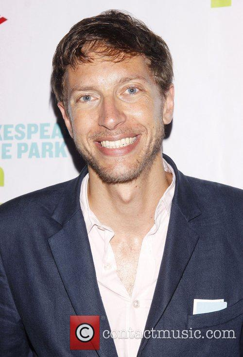 Michael Friedman Opening night of the Public Theater...