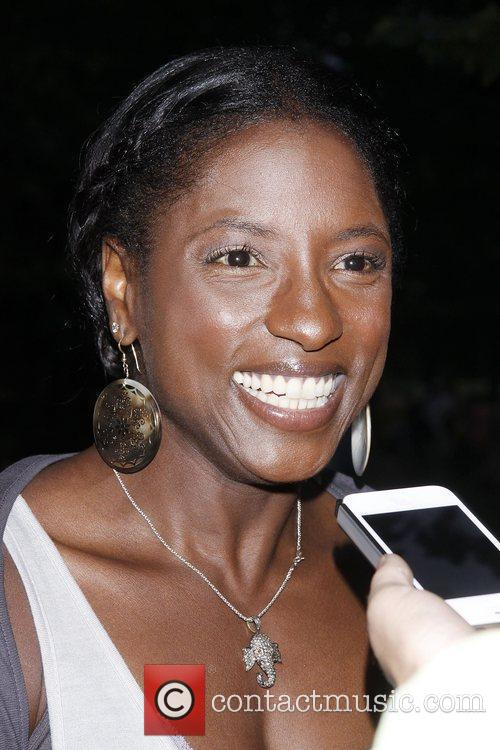 Rutina Wesley from the TV show 'True Blood'...