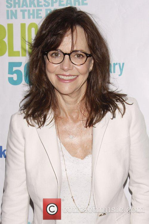 Sally Field Opening night of the Public Theater...