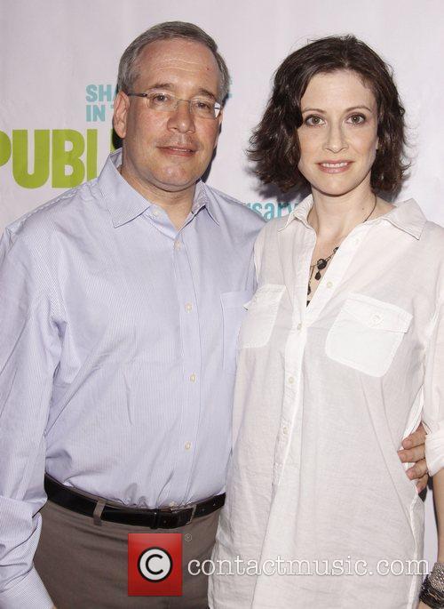 Scott Stringer and Elyse Buxbaum Opening night of...