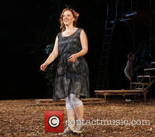 Jessie Mueller Opening night curtain call for the...