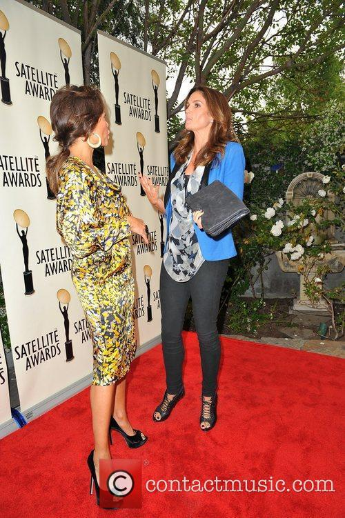 Vanessa Williams and Cindy Crawford