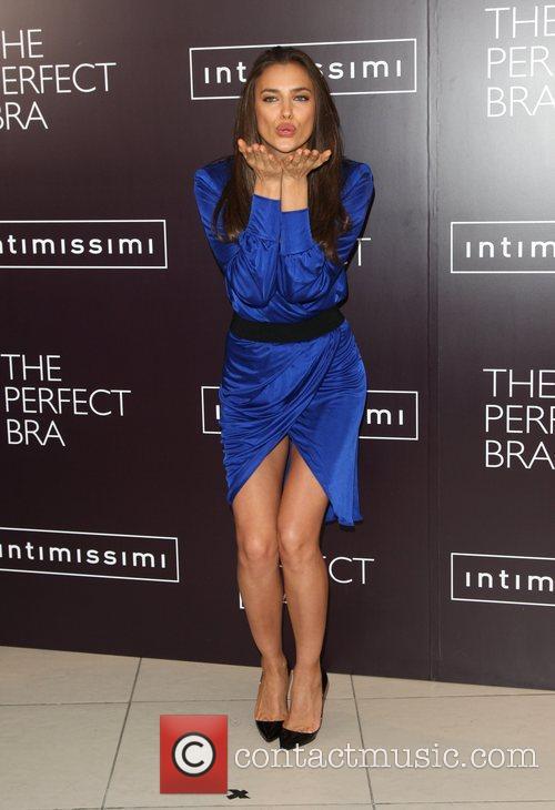 Irina Shayk lauches Intimissimi's new book The Perfect...