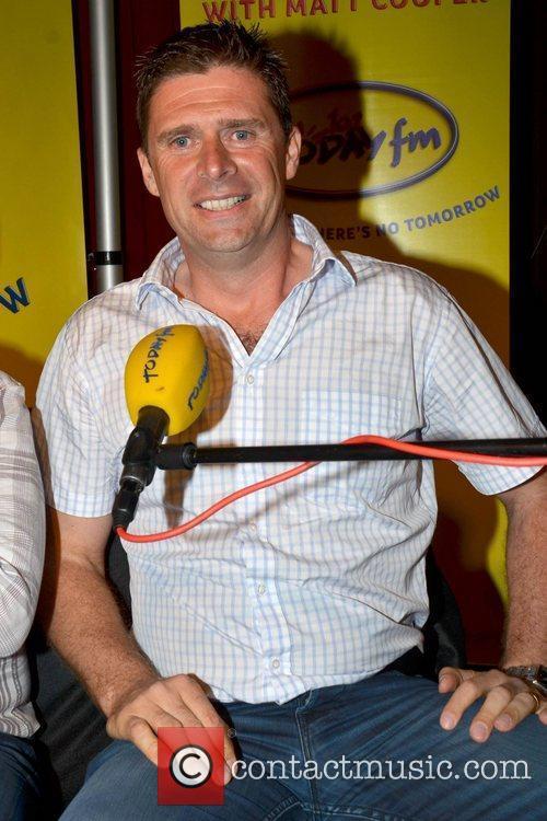 Niall Quinn Ireland soccer heroes Tony Cascarino, Kevin...