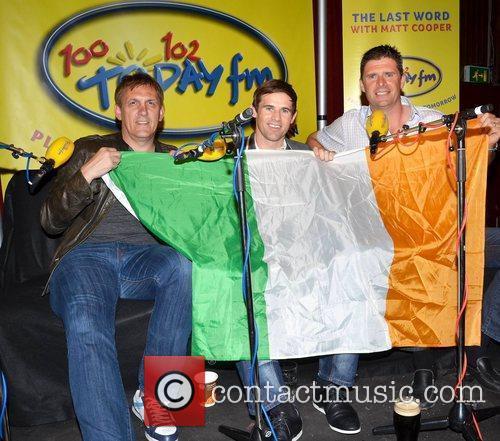 Tony Cascarino, Kevin Kilbane,Niall Quinn Ireland soccer heroes...