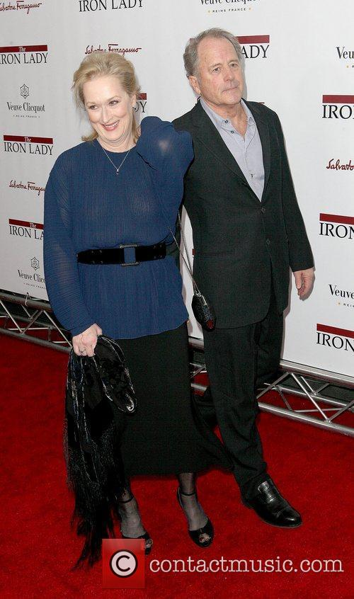 Meryl Streep and Don Gummer at the New...