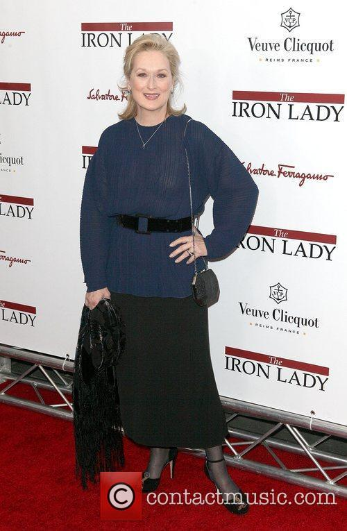 Meryl Streep at the New York premiere of...