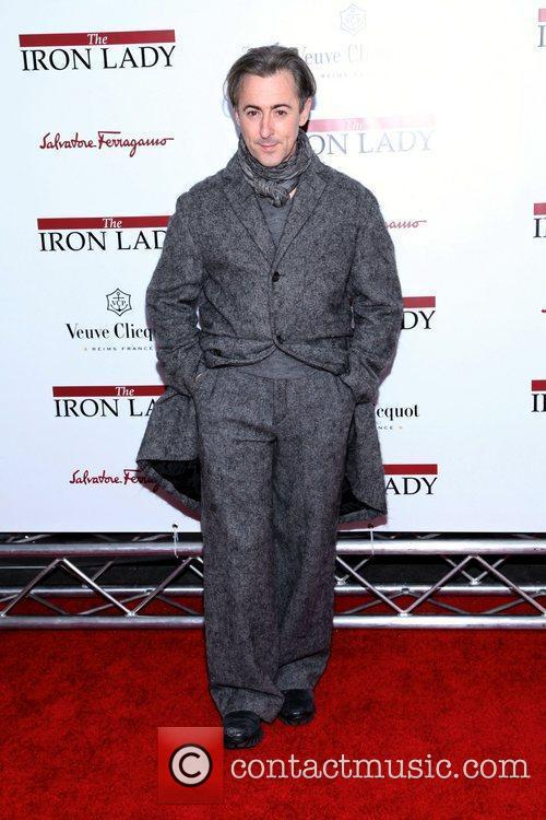 Alan Cumming  at the New York premiere...