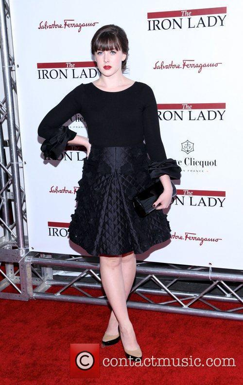 At the New York premiere of 'The Iron...