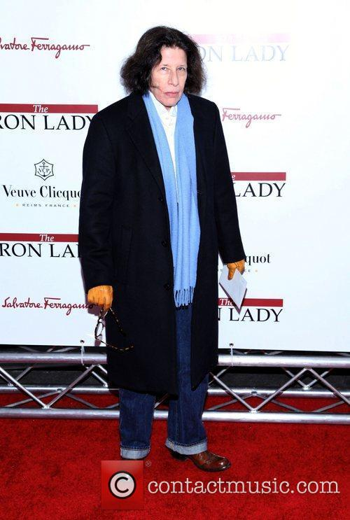 Fran Lebowitz  at the New York premiere...