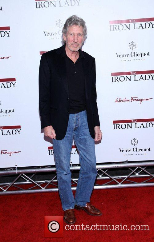 Roger Waters  at the New York premiere...