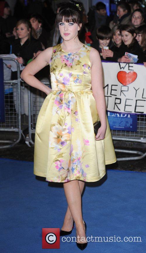 Alexandra Roach 'The Iron Lady' UK film premiere...