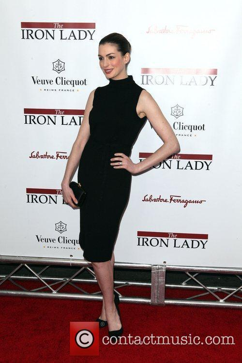 Anne Hathaway  the New York premiere of...