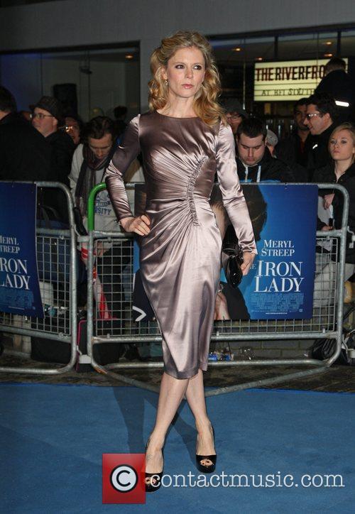 Emilia Fox 'The Iron Lady' UK film premiere...