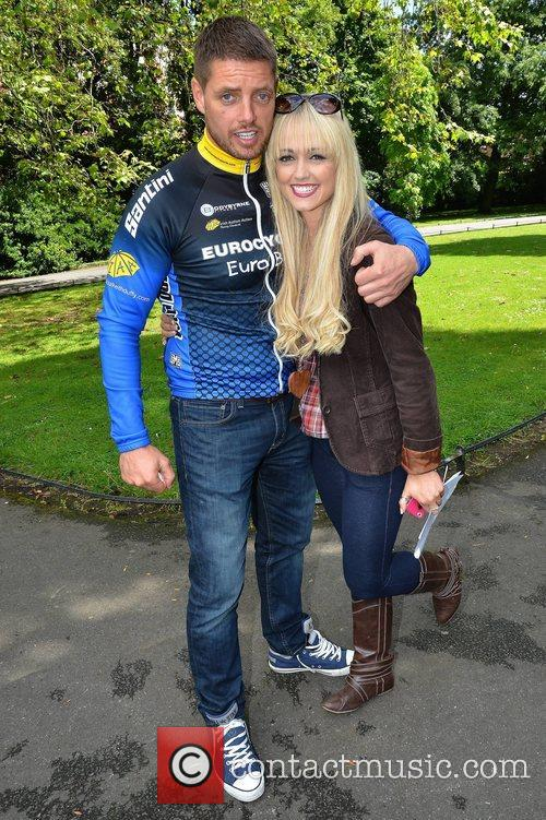 Keith Duffy and Leanne Moore