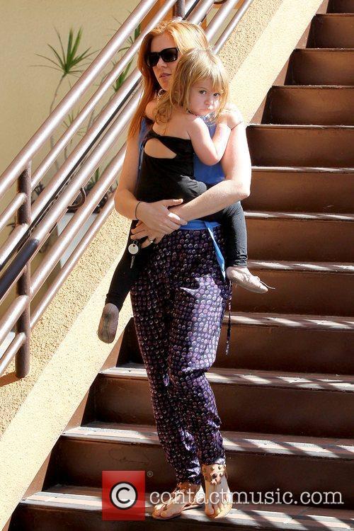 Isla Fisher and Elula Lottie Miriam Cohen 12