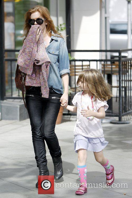 Isla Fisher and Olive Cohen 2