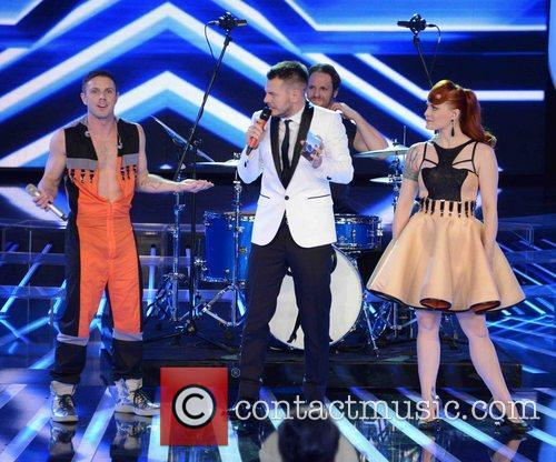 Jake Shears, Ana Matronic, X Factor and Scissor Sisters 1