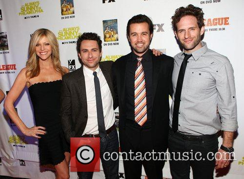 Charlie Day, Kaitlin Olson, Rob Mcelhenney and Glenn Howerton 6