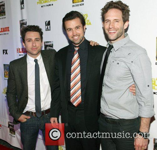 Charlie Day, Rob Mcelhenney and Glenn Howerton 7