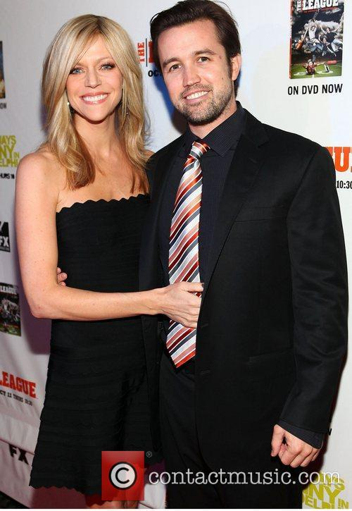 Kaitlin Olson and Rob McElhenney 1